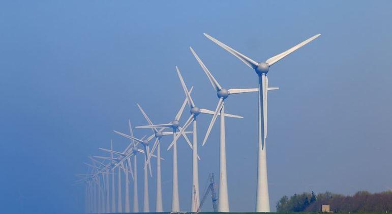 Produção de enrgia eólica no Nordeste. (Foto: Pixabay)