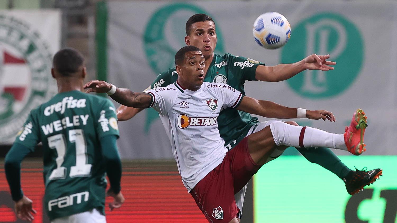 Palmeiras vence Fluminense e segue isolado na liderança do Brasileirão Foto: Cesar Greco
