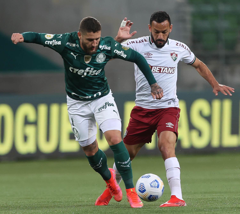 Palmeiras vence Fluminense e amplia vantagem na liderança Foto: Cesar Greco