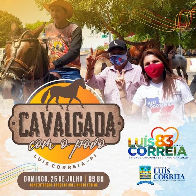 Prefeitura realiza Cavalgada em comemoração aos 83 anos de Luís Correia - Imagem 1