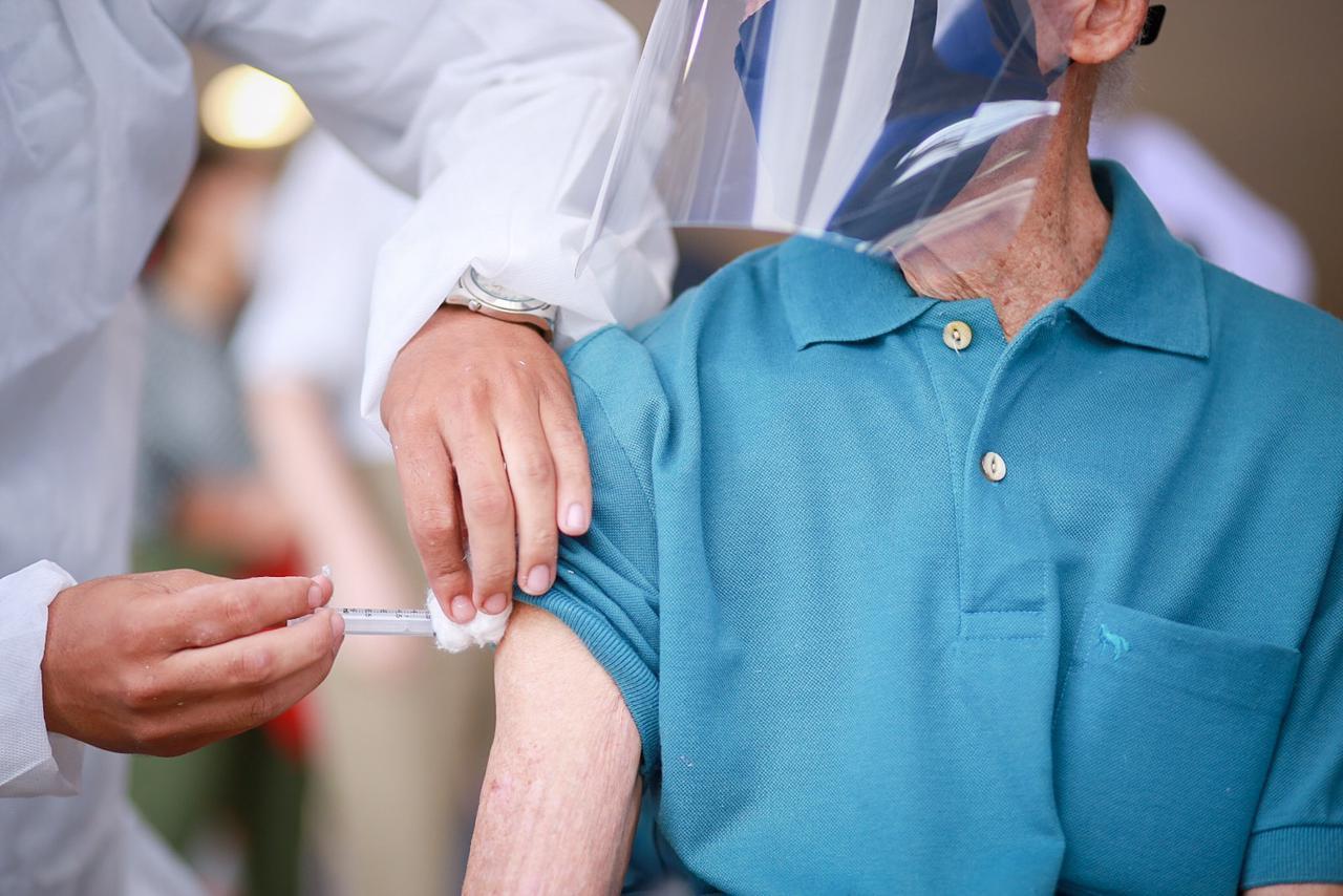 Mais de meio milhão de piauienses estão imunizados contra a Covid-19 - Foto: Divulgação/Sesapi