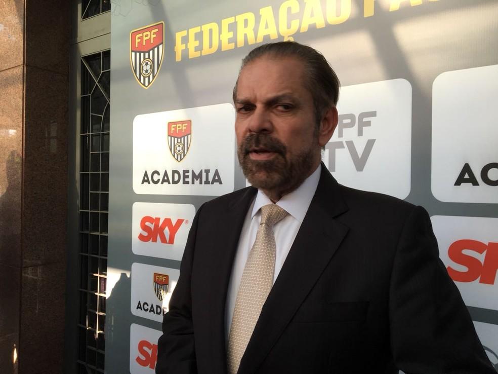 Reinaldo Carneiro Bastos foi nomeado como um dos interventores da CBF. (Foto: Leonardo Lourenço)