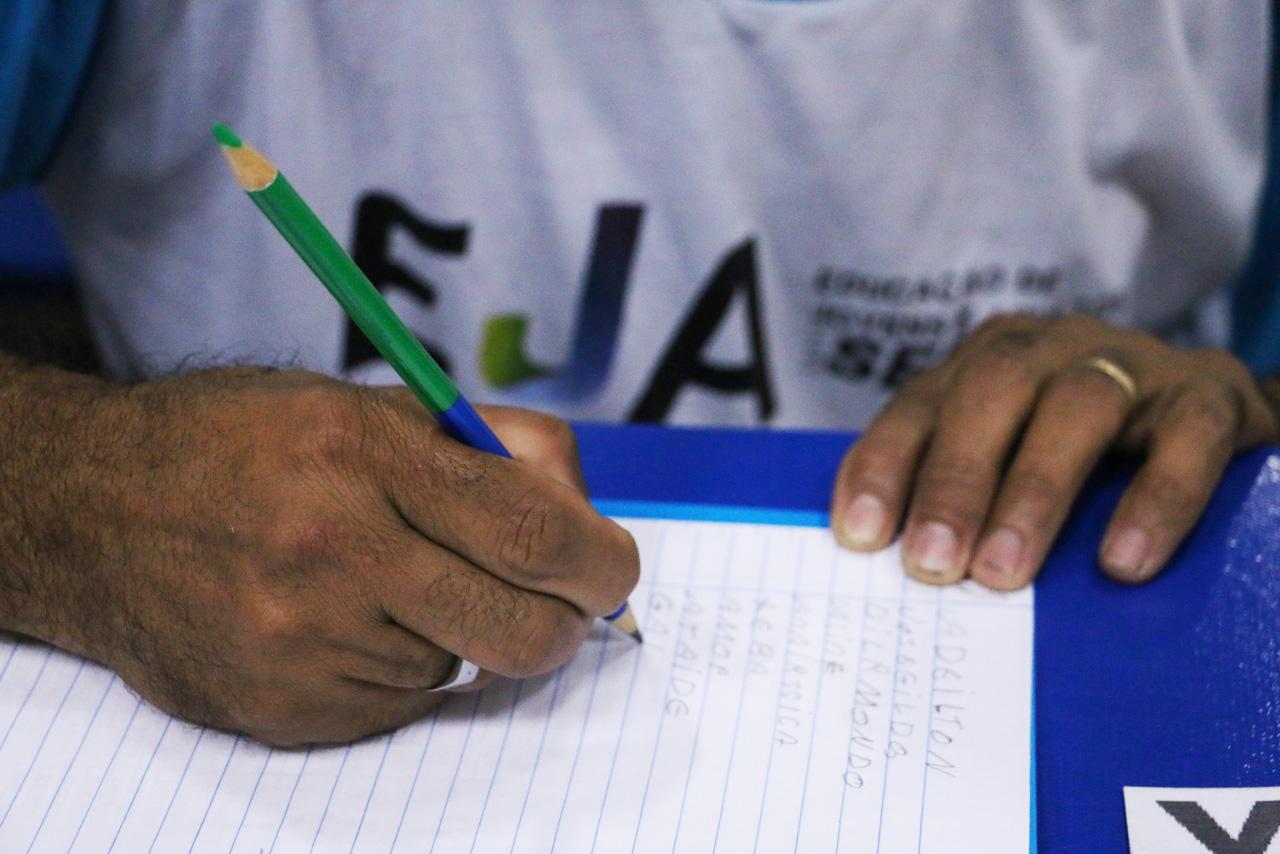 Alfabetização dos alunos/ Foto: Reprodução Jornal da Franca