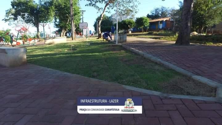 Uma beleza de praça em Monsenhor Gil, na Canafístula - Imagem 1