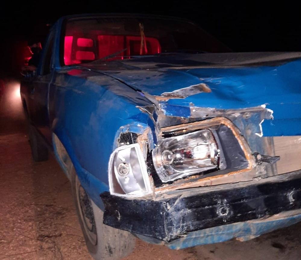 Motorista do veículo fugiu do local com destino ignorado - Foto: Reprodução