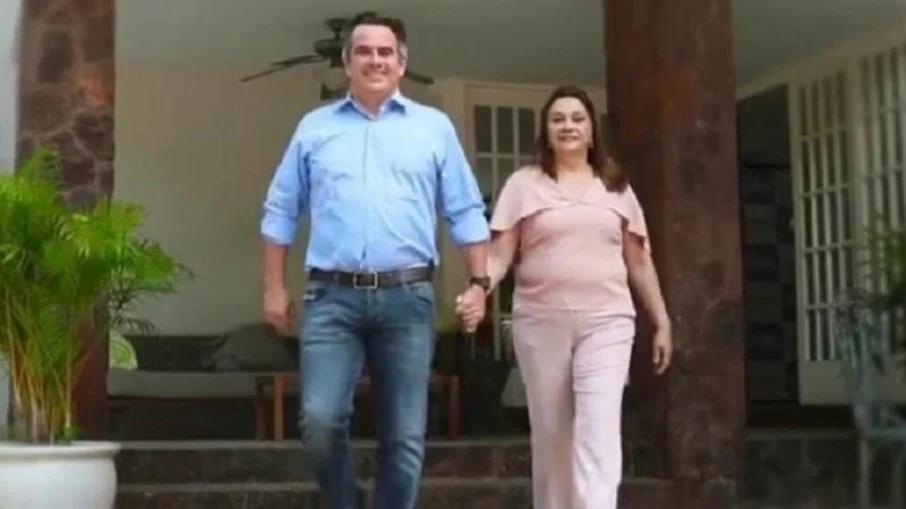 Ciro Nogueira e sua mãe, Eliane Nogueira, sua suplente no Senado - Foto: Reprodução