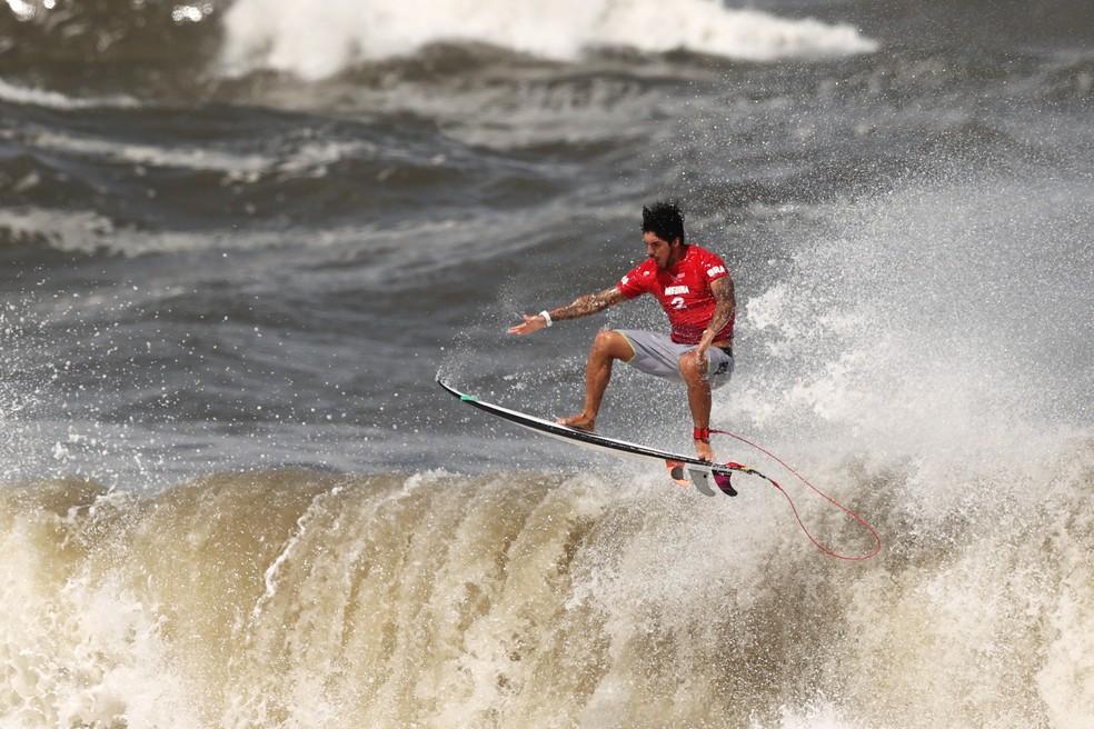 Gabriel Medina fica sem medalha nas Olimpíadas de Tóquio Foto: Ryan Pierse/Getty Images
