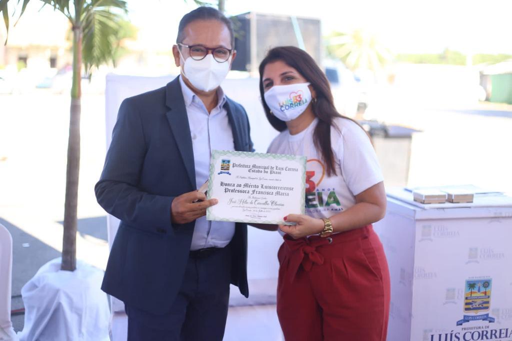 Prefeitura de Luís Correia entrega Título Mérito Luiscorreiense - Imagem 3