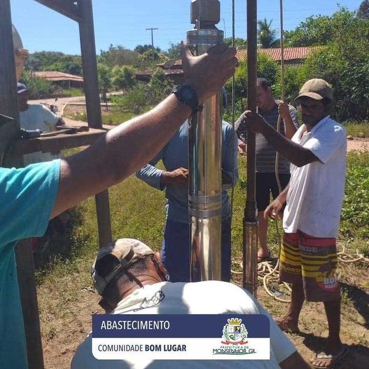 Prefeitura de Monsenhor Gil levando Água para as áreas rurais e urbana - Imagem 1