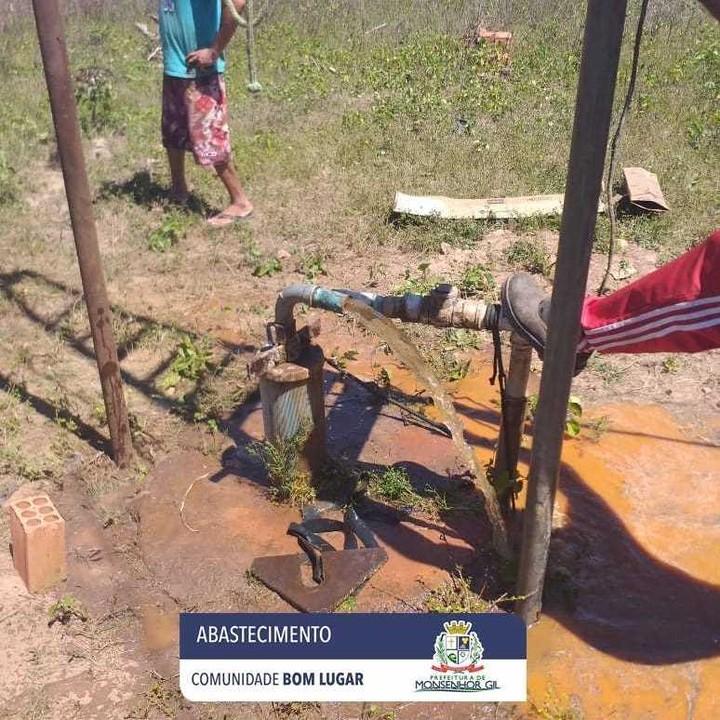 Prefeitura de Monsenhor Gil levando Água para as áreas rurais e urbana - Imagem 2