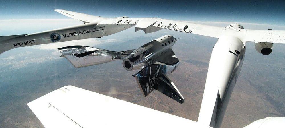 Aeronave da empresa de Richard Branson (Foto: Reprodução)