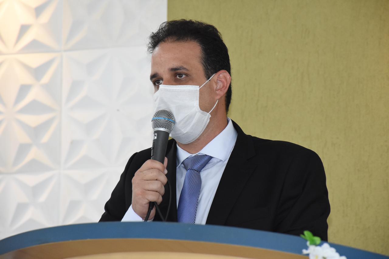 Prefeito de Amarante, Diego Teixeira, lançará projeto de requalificação da cidade ( foto: Divulgação)