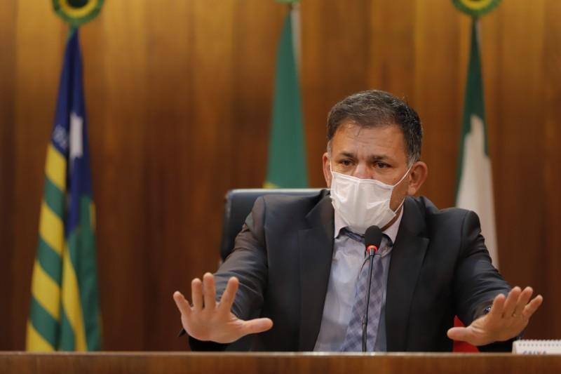 Coronel Carlos Augusto diz que falta uma política nacional para segurança (Thiago Amaral)