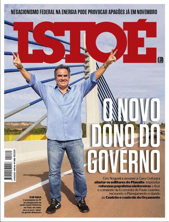 Ciro Nogueira é destaque na revista IstoÉ - Foto: ReproduçãoCiro Nogueira é destaque na revista IstoÉ - Foto: Reprodução
