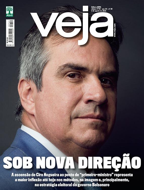 Ciro Nogueira é destaque na revista Veja - Foto: Reprodução