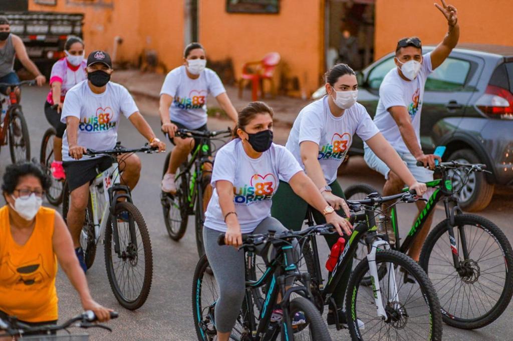 Ciclismo nas comunidades rurais (Foto: Prefeitura de Luís Correia)