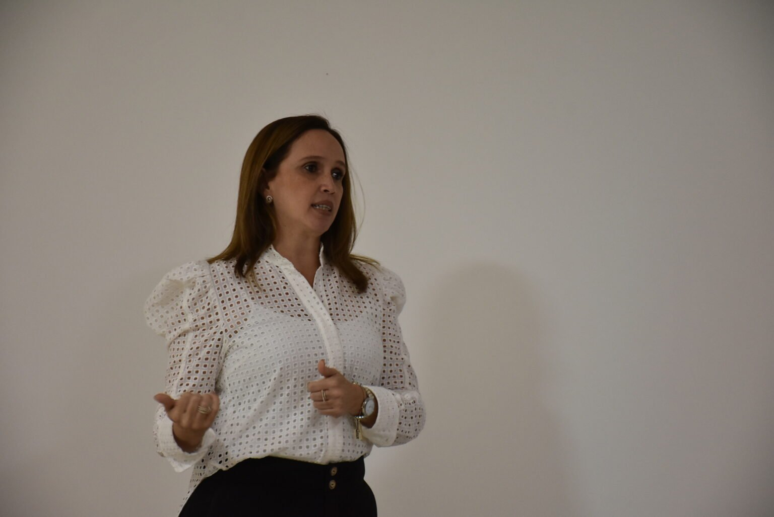 Viviane Moura falou sobre os investimentosa para conclusão da Transcerrados. (Foto: Divulgação)