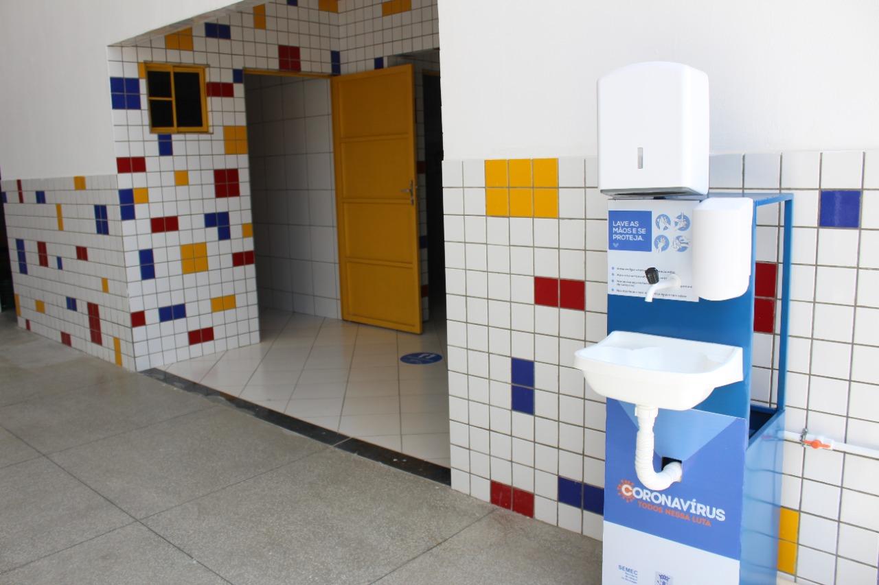 Escolas são preparadas para volta às aulas (Foto: Divulgação)Escolas são preparadas para volta às aulas (Foto: Divulgação)