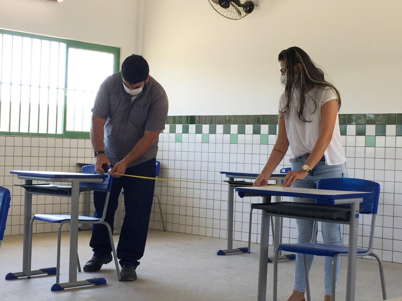 Escolas são preparadas para volta às aulas (Foto: Divulgação)