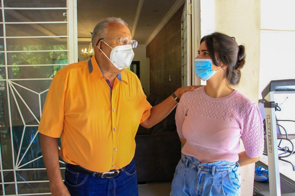 Dr Pessoa (MDB), conheceu o sítio da vereadora e protetora de animais, Thanandra Sarapatinhas - Foto: Ascom