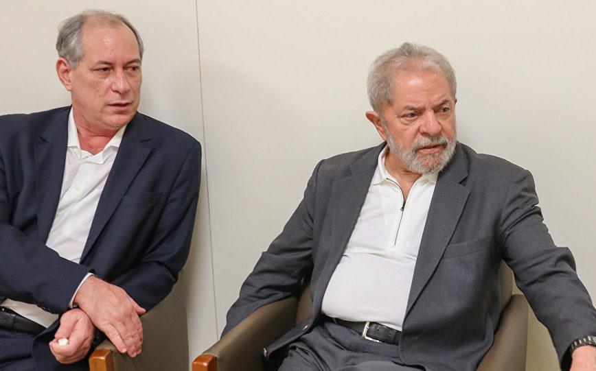 Ciro e Lula já foram aliados políticos, e hoje estão em lados opostos (Foto: Ricardo Stuckert)