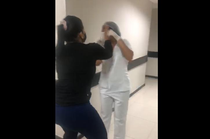 Vídeo da confusão viralizou nas redes sociais (Foto: Reprodução)