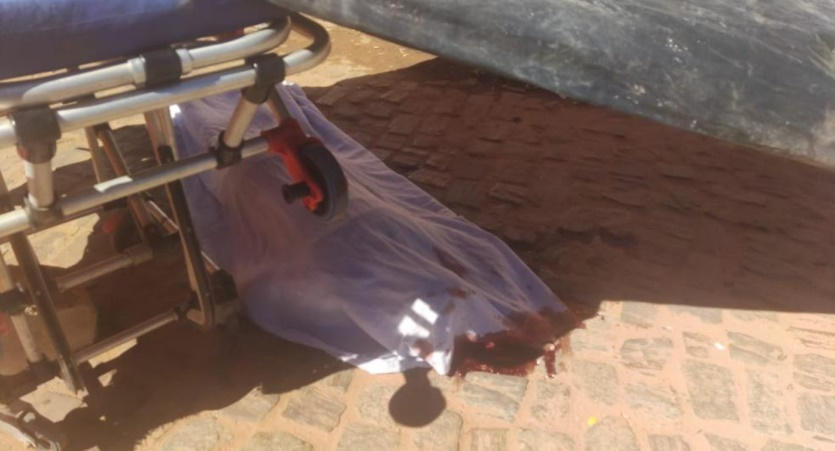 O crime ocorreu em plena rua e foi testemunhado por várias pessoas - Foto: Reprodução/Portal B1