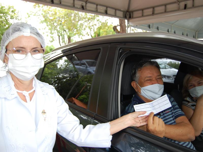 Vacinação em Teresina (Foto: FMS)