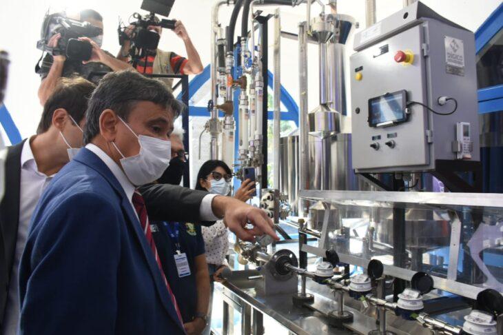 De acordo com o Maycon Danylo, diretor-geral do Imepi, o consumidor poderá acompanhar a aferição do hidrômetro - Foto: Ccom