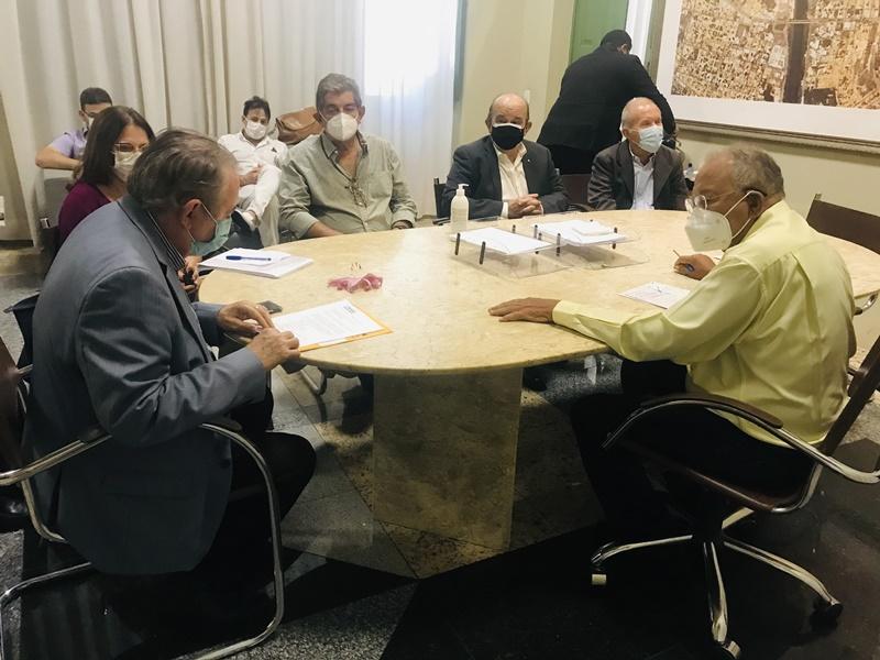 O projeto é estruturado com uma emenda parlamentar do senador Elmano Férrer ainda no ano passado - Foto: Ascom