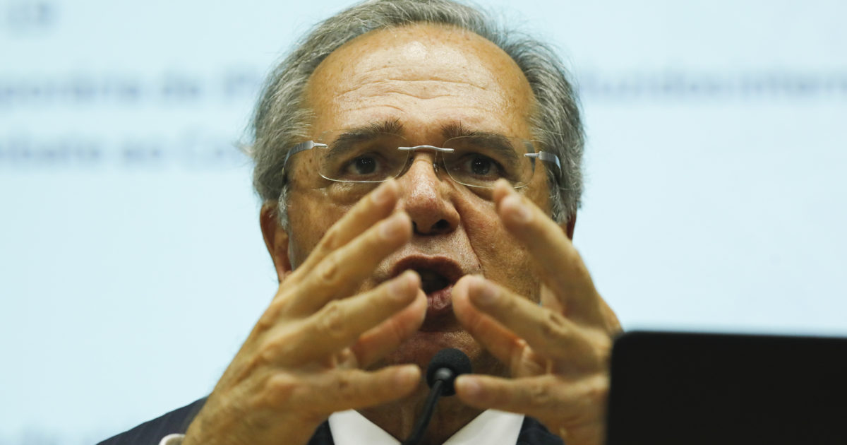 Paulo Guedes (Foto: Sérgio Lima/ Poder 360)