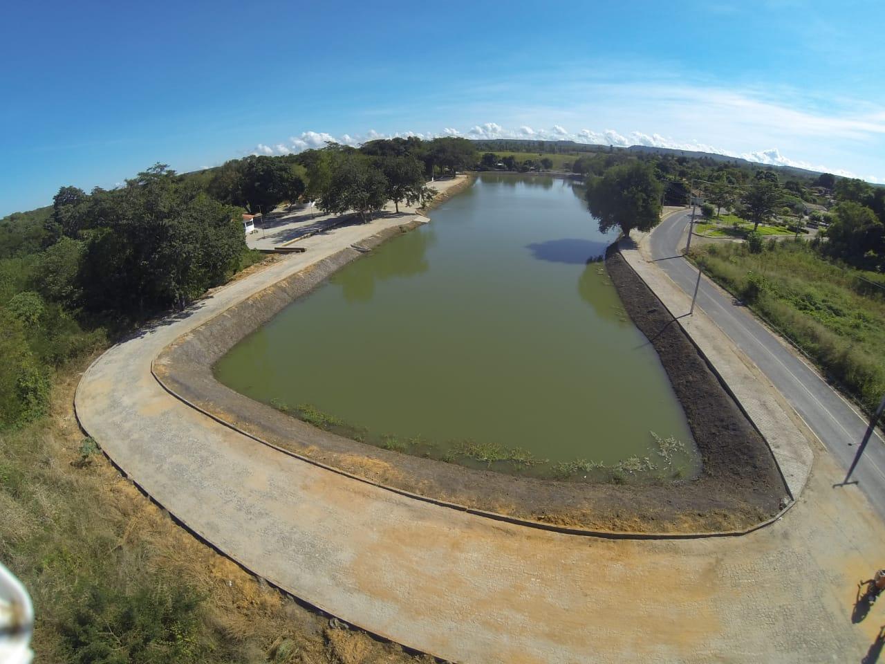 Orla da Lagoa na cidade de Agricolândia será inaugurada pelo Governador Wellington Dias
