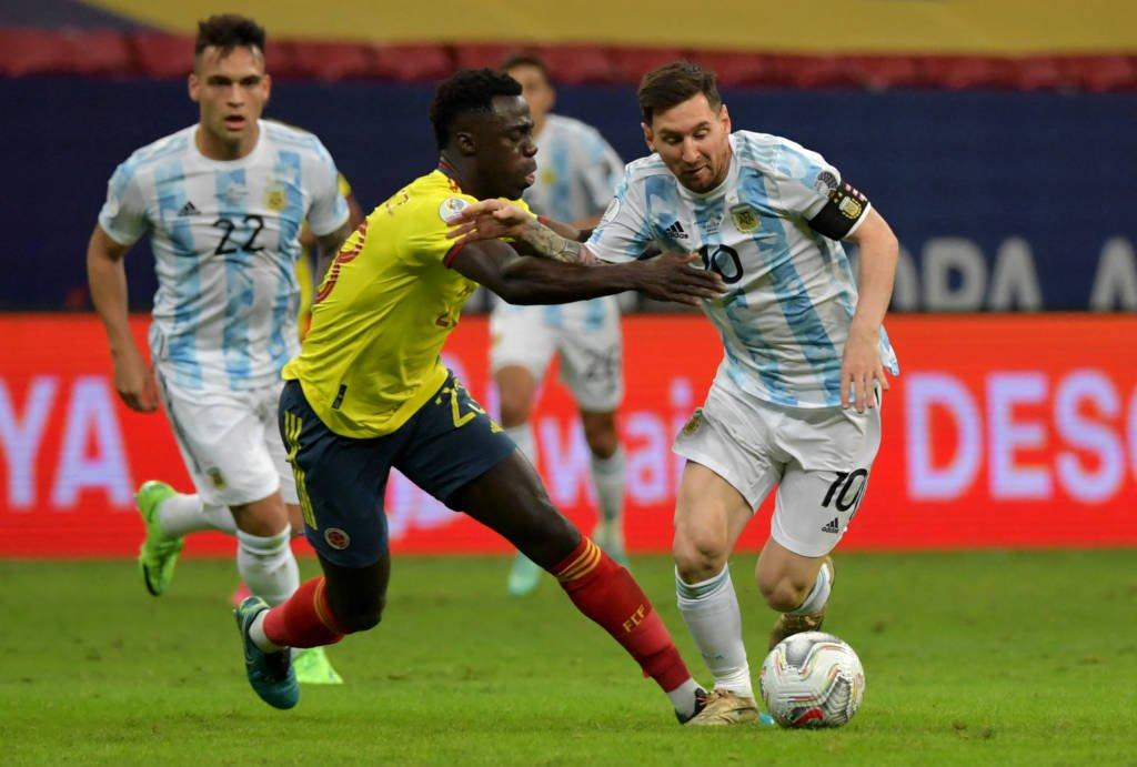 Argentina vai enfrentar o Brasil na final da Copa América Foto: Nelson Almeida AFP
