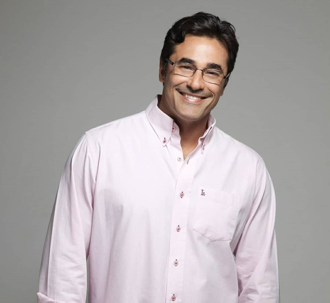 Luciano Szafir foi reinfectado com covid-19