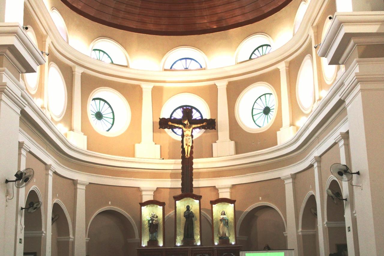 Igreja São Benedito, em Teresina   FOTO: Divulgação