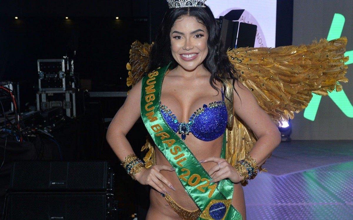 Lunna foi eleita Miss Bumbum Brasil 2021