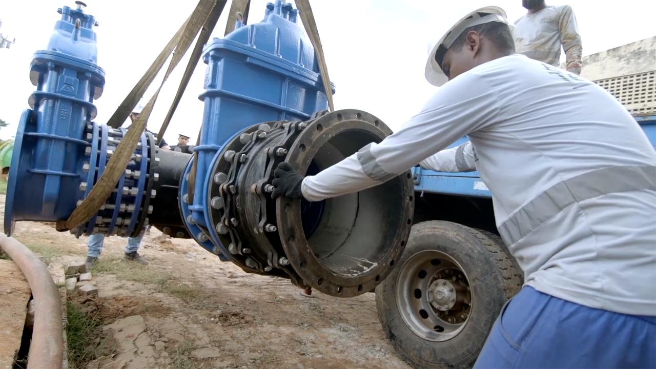 Águas de Teresina investe em obras por toda a cidade de Teresina (Foto: Divulgação)