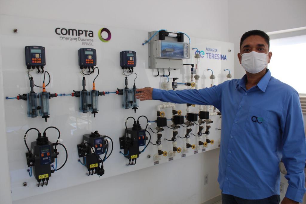 Alexandre Oliveira é gerente de operações da Águas de Teresina (Foto: Lucrécio Arrais)