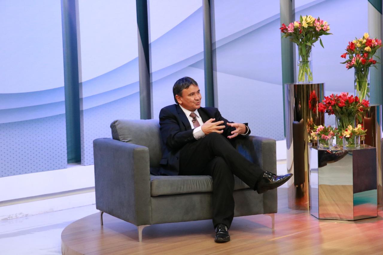 Governador Wellington Dias (Foto: David Carvalho)