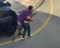 Refém de assalto que terminou com bandido morto relata momentos de terror