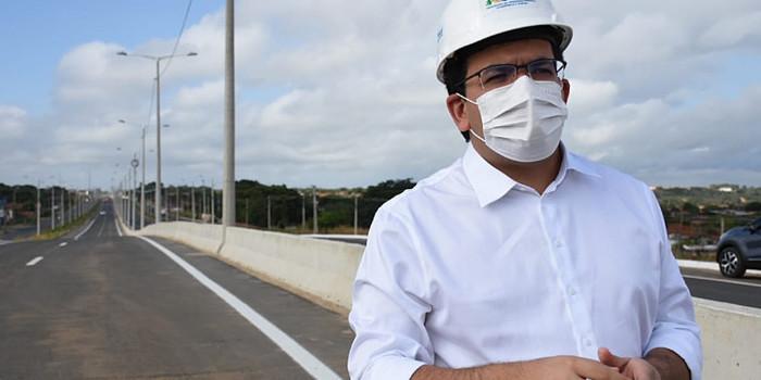 Rafael Fonteles, visita obras e participará de inaugurações