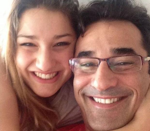Sasha já está no Brasil para acompanhar o estado de saúde do seu pai