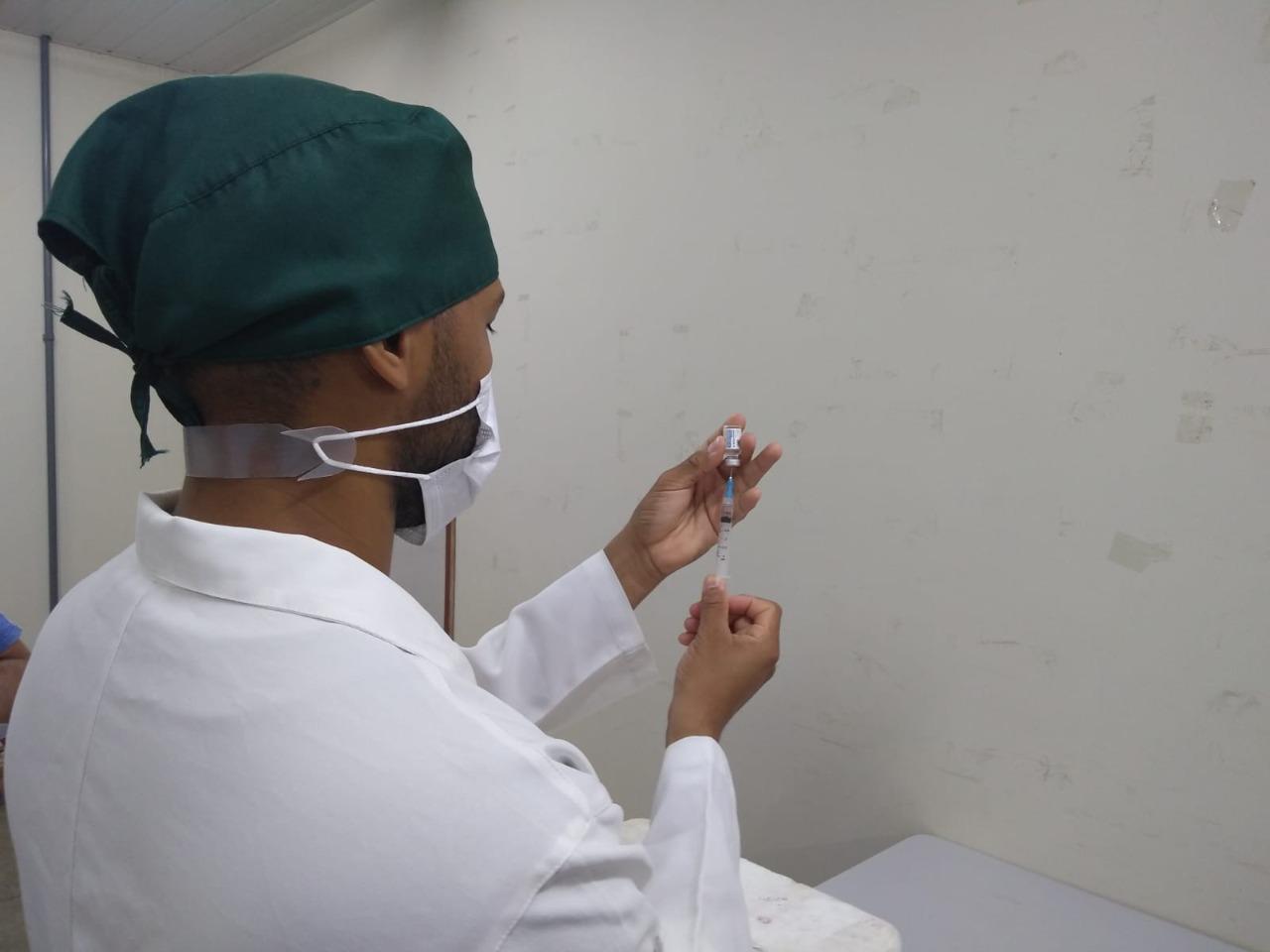 FMS abrirá agendamento da vacinação para grávidas sem comorbidade em Teresina (Foto: Ascom)