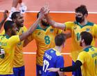 Olimpíadas de Tóquio: Brasil bate França no vôlei em jogaço de 5 sets