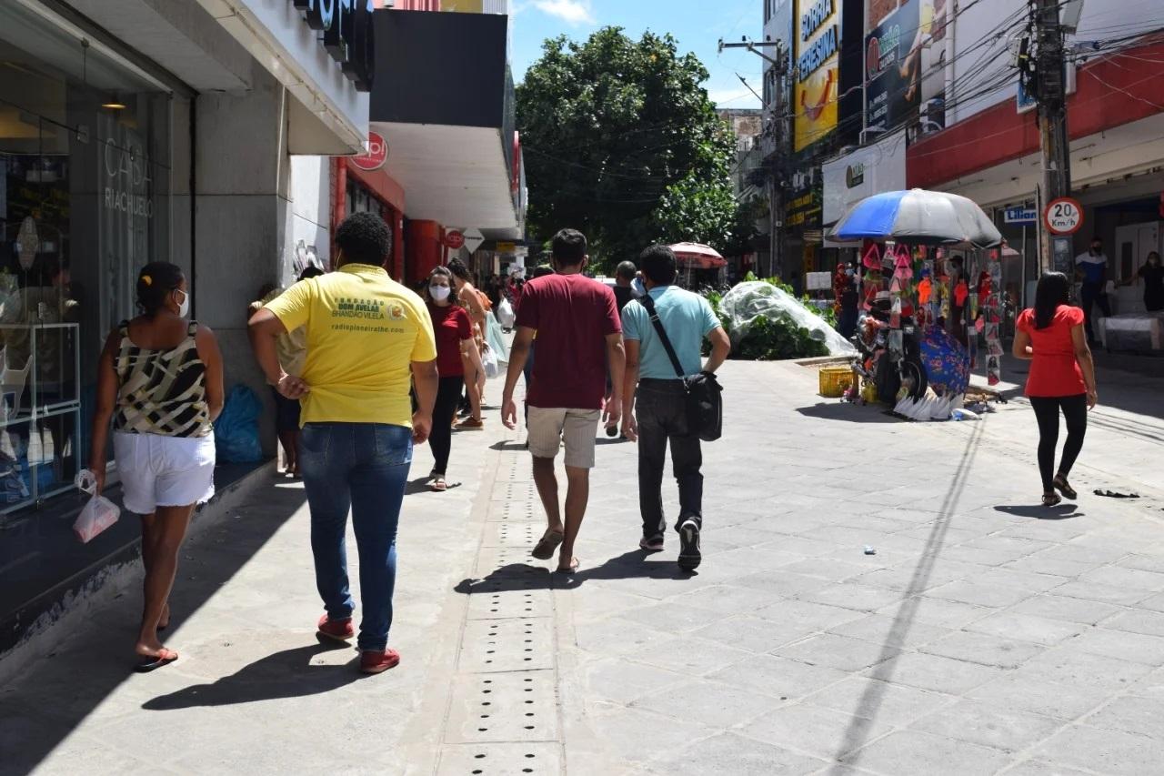 Lojas do Centro de Teresina podem funcionar até as 17h | FOTO: Divulgação