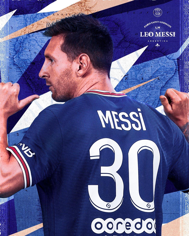 Messi agora é do PSG