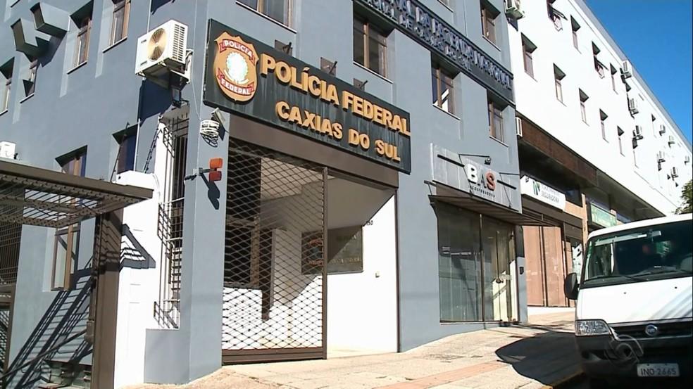 Sede da Polícia Federal de Caxias do Sul