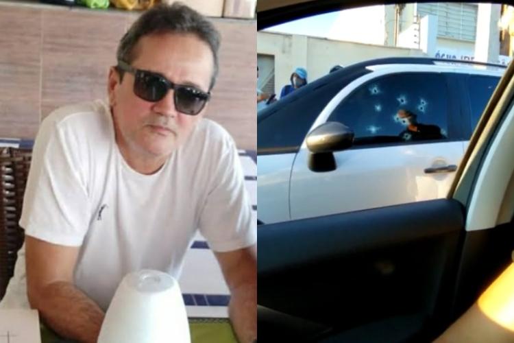 Empresário é morto a tiros dentro de veículo na zona Leste de Teresina (Foto: Reprodução/ WhatsApp)