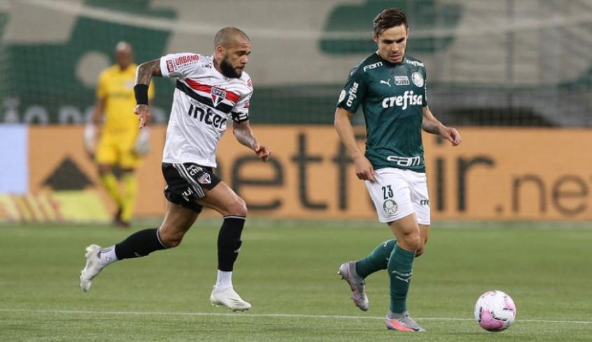 São Paulo e Palmeiras decidem mata-mata pelas quartas da Libertadores hoje- Foto: Cesar Greco