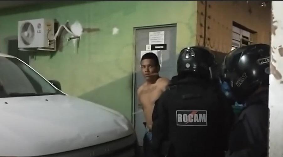 Criminosos foram presos hora após o assalto ao sargento da Polícia Militar - Foto: Reprodução